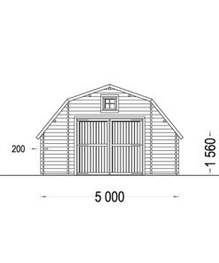 Garažas Svirnas Sawyer 30m²