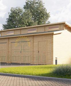 Garažas Modern 8m x 6m, 44mm 48m²