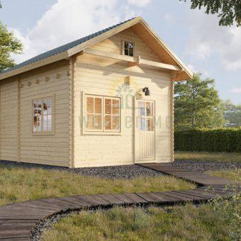 Sodo namelis su palėpe Avignon 19,9 m² + 16,6 m²