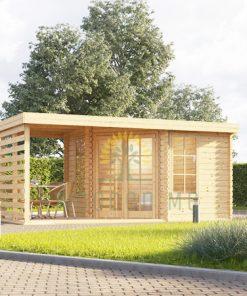Medinis namukas Aisne plus 9 m², 28 mm