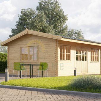 Sodo namelis Oak 18 m², 44 mm