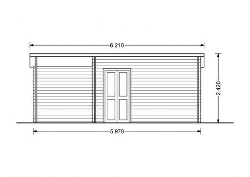Carl 15 m2 + 6 m2 Terasa