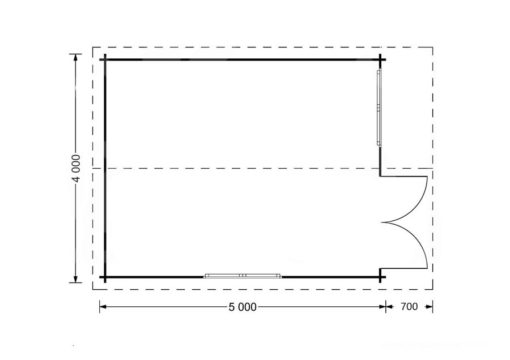 Lille 4x5-Grindų planas