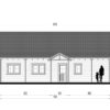 Rąstinis namas Versailles 98 m² - Atgal