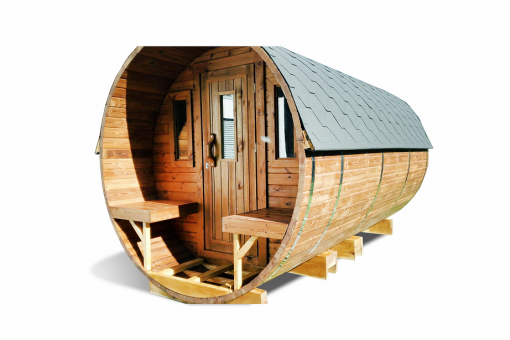 Pirtis bačka 4.5 m - termo mediena