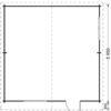 DREUX 36m² - Grindų planas