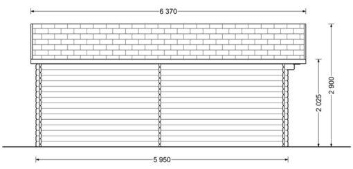 DREUX 36m² - Kairė