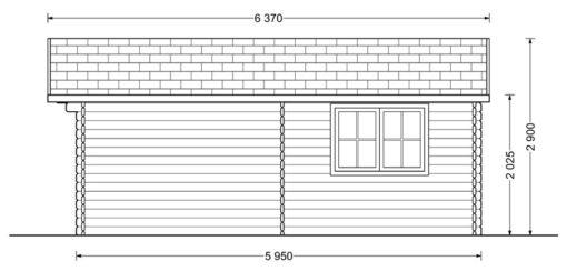 DREUX 36m² - Dešinė