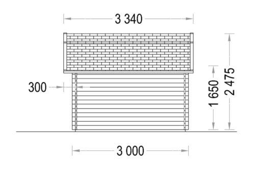 ORLANDO 9m² - Dešinė