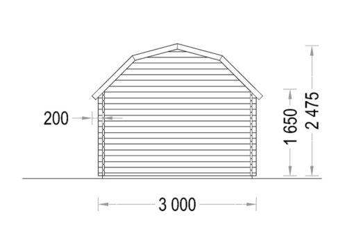 ORLANDO 9m² - Atgal