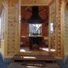 Paviljonas griliaus namelis 9.2 m²