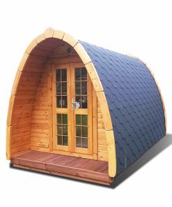 Poilsiavietės namelis Pod (kokonas) 2,4 m x 3,5 m