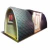 Apšiltintas namelis Pod 2.4 m x 6.6 m (su šoniniu įėjimu)
