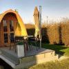 Poilsiavietės namelis Pod (kokonas) 2,4 m x 5,9 m
