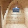Apšiltintas namelis Pod 2.4 m x 4.8 m (su šoniniu įėjimu)