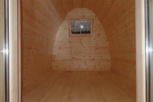 Apšiltintas namelis Pod 2,4 m x 4 m