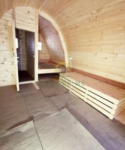 Poilsiavietės namelis Pod 3 m x 5,9 m