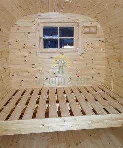 Poilsiavietės namelis Bus 2.4 m x 5.9 m