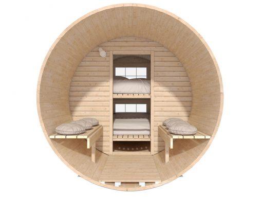 """Miegamasis namelis """"bačka"""" 4.4 m (Maxi dydžio)"""