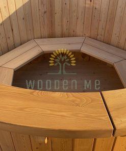 Maumedžio medienos kubilas - viduje