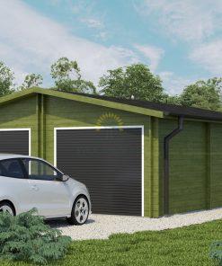 Garažas Roddy 5.7 m x 8.7 m (49 m²)