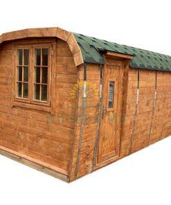 Poilsiavietės namelis Bus 2.3 m x 4.8 m