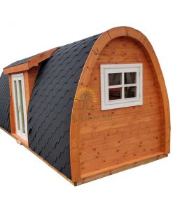 Apšiltintas namelis Pod 2.4 m x 6.3 m (su šoniniu įėjimu)